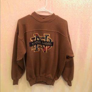 VINTAGE Notre Dame sweatshirt